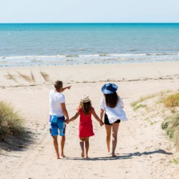 Plage en famille à l'île de Noirmoutier